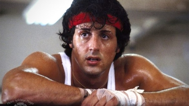 A still of Sylvester Stallone in Rocky (1976), Photo Credit: Chartoff-Winkler Productions