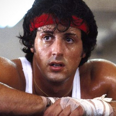 A still of Sylvester Stallone in Rocky (1976), Photo Credit:Chartoff-Winkler Productions