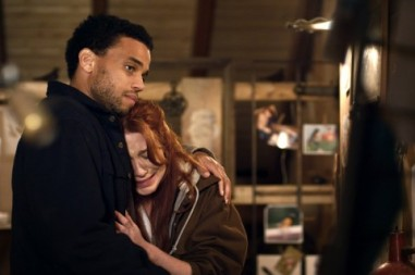 A still of Michael Ealy and Lynn Collins in Unconditional (2012) Photo Courtesy: Harbinger Media Partners